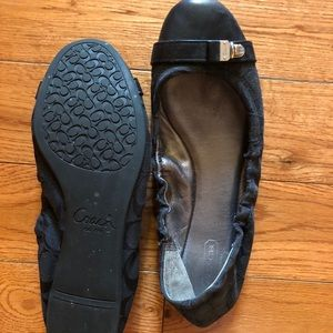 Gently used Coach ballet flats